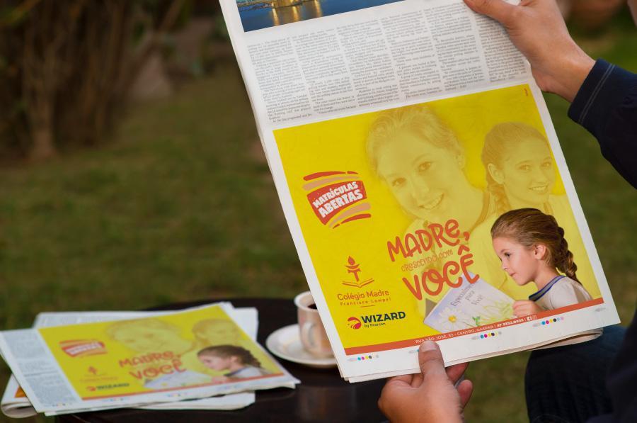 jornal colégio madre