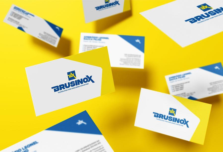 cartão de visita brusinox