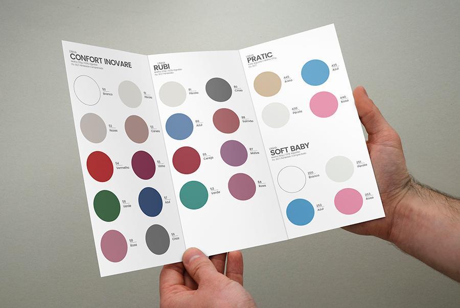 cartela de cores sbx