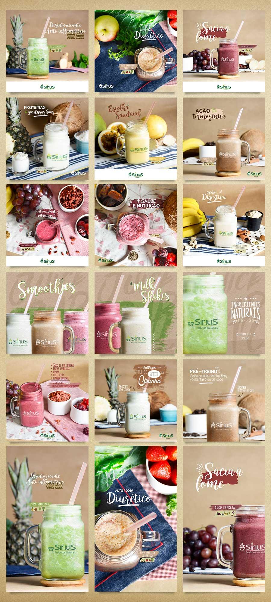postagens sucos sirius produtos naturais