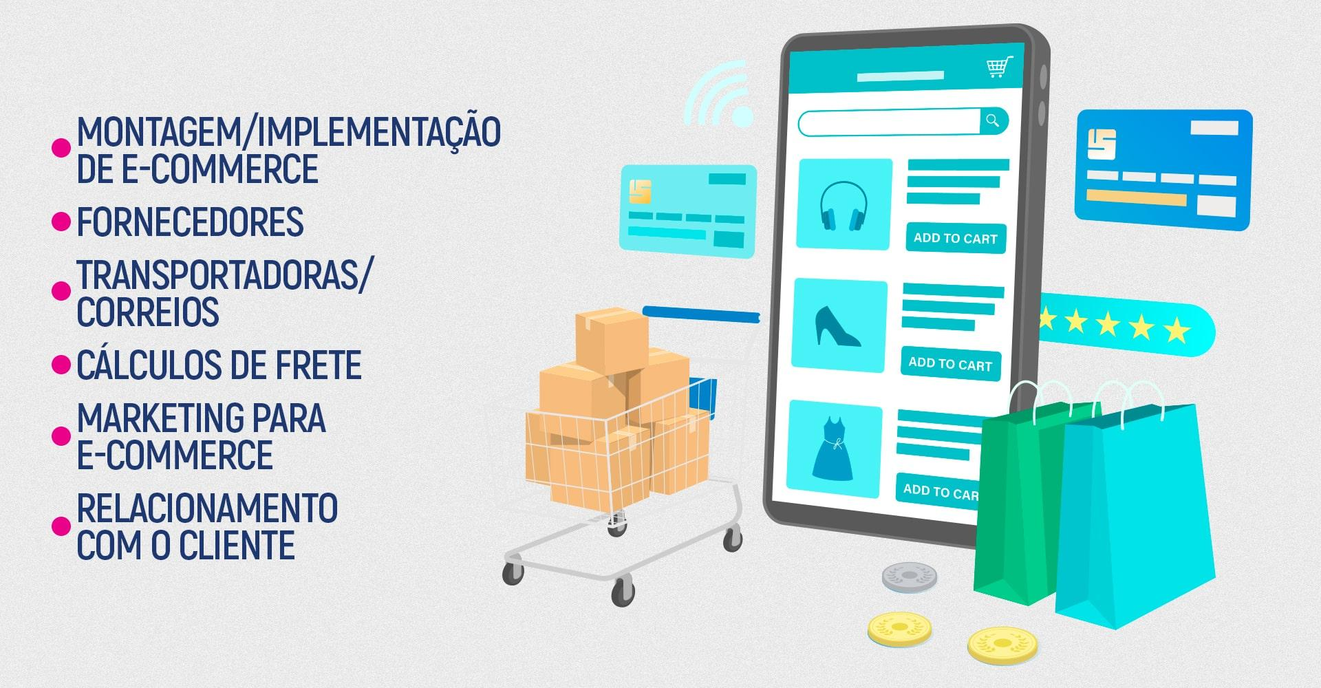 implementação de e-commerce bemark